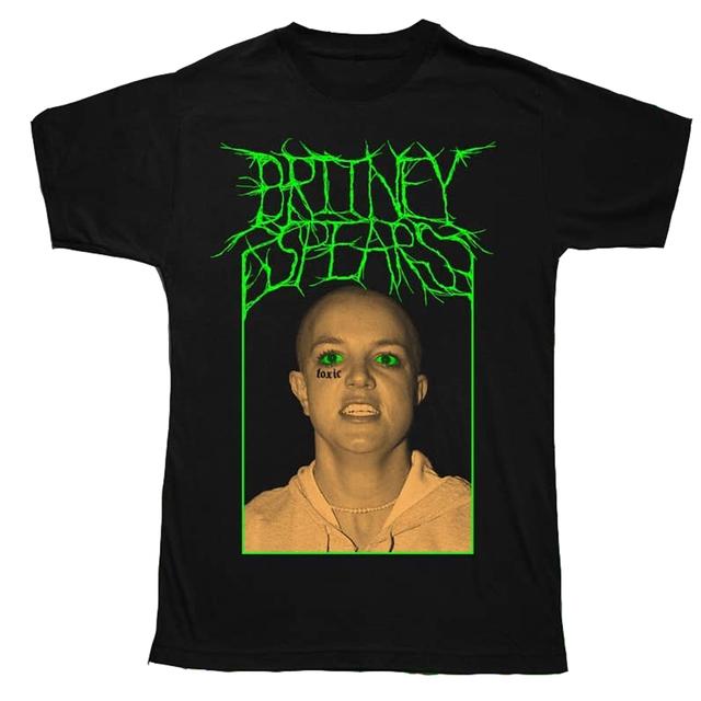 Remera Britney Spears Black Metal Oversize - KITCH TECH