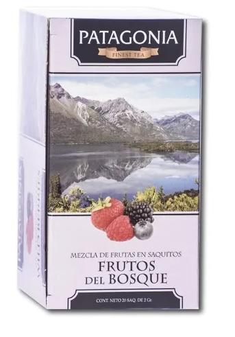 Patagonia Te Saq Frutos Del Bosque Carmin Alimentos