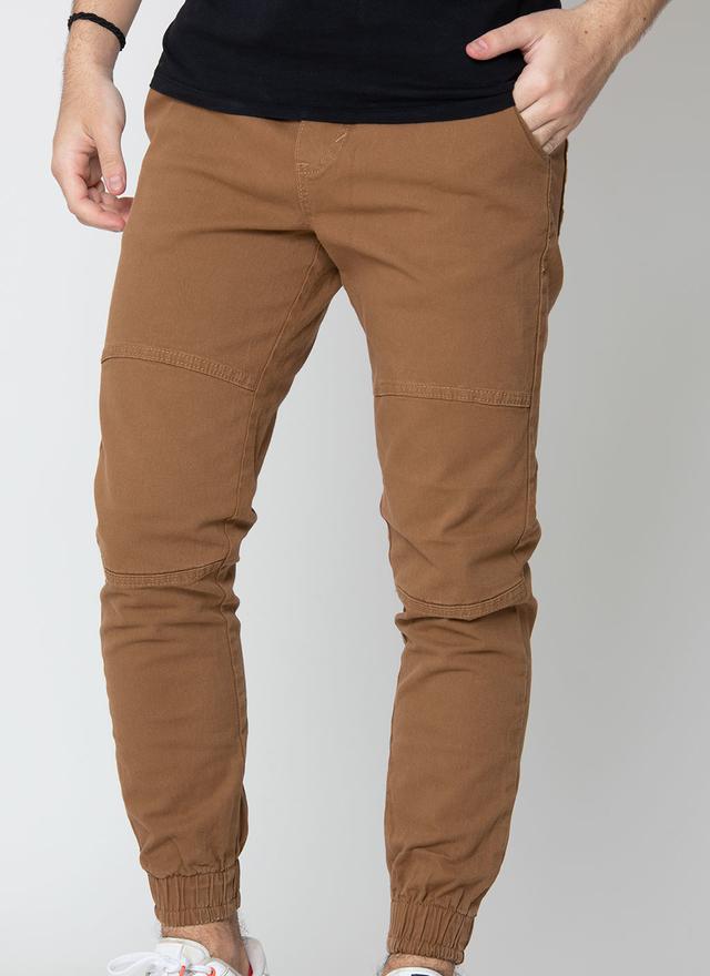 Pantalon Bross Gabardina Camel Hombre Bross