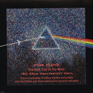 Pink Floyd - Dark Side of the Moon 2011 Ed. [LP + MP3]