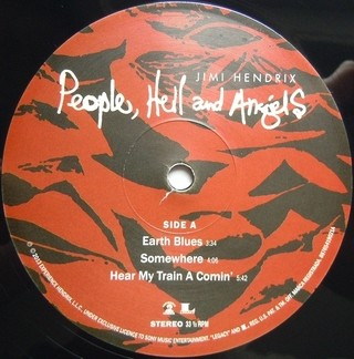 Jimi Hendrix - People, Hell and Angels [LP Duplo] na internet