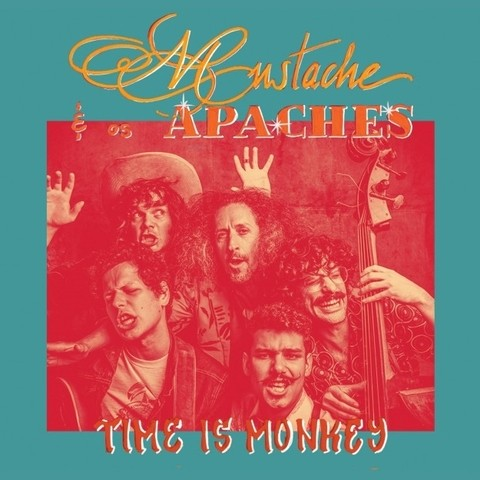 Mustache e Os Apaches - Time Is Monkey [CD]