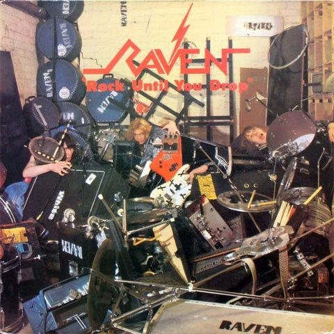 Raven - Rock Until You Drop [LP] - comprar online