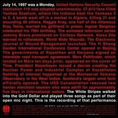 White Stripes - Live On Bastille Day '97 [Compacto]