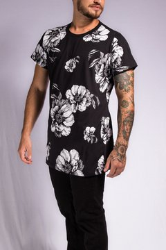 T SHIRT FLOWER WHITE - comprar online