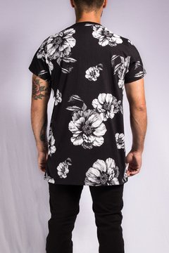 T SHIRT FLOWER WHITE na internet