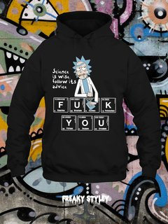 Buzo Rick and Morty Science is Wise - comprar online