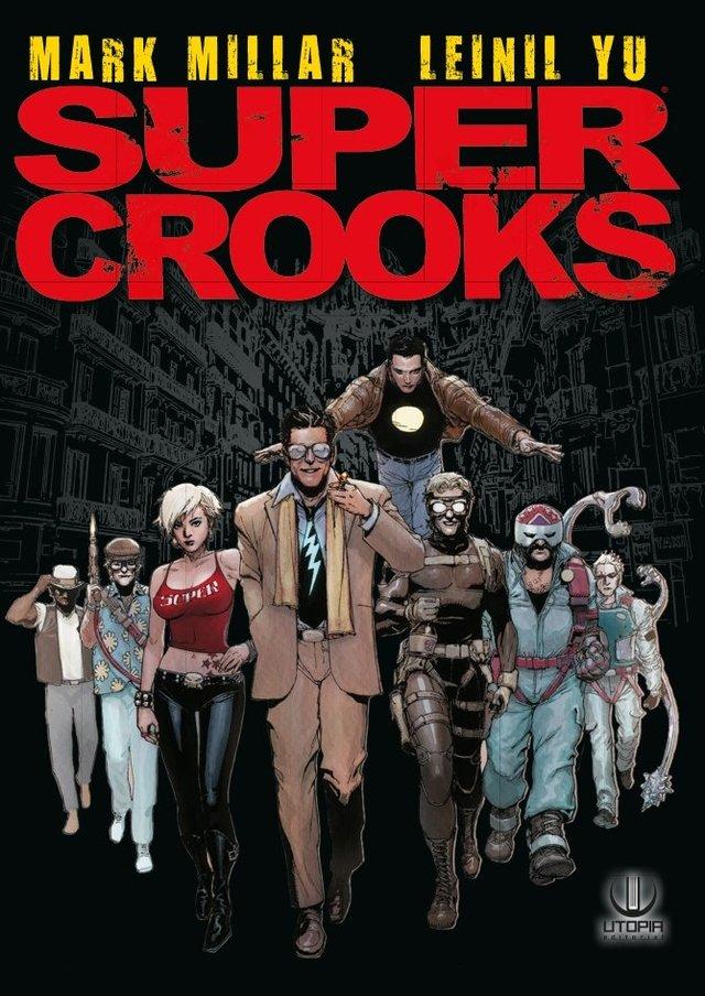 SUPERCROOKS - Comprar en Utopia Editorial