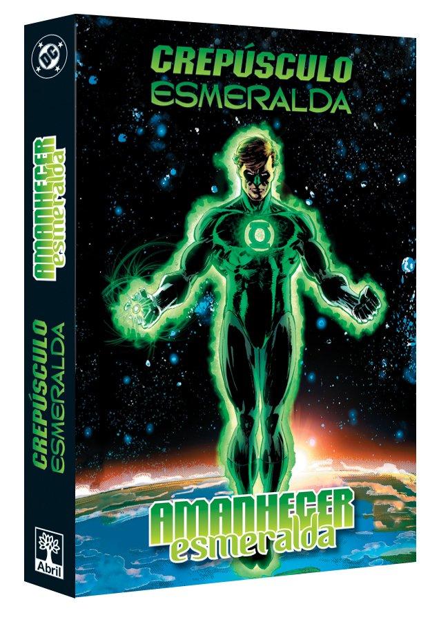 Caixa para Crepúsculo Esmeralda | Amanhecer Esmeralda | Ed. Abril | DC  Comics