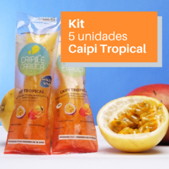 Kit 5 Caipilés Tropical 100g