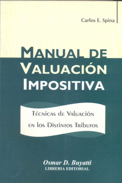 Manual De Valuación Impositiva