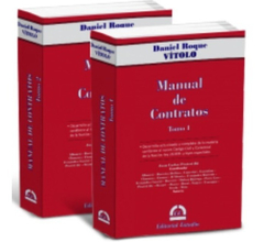 Manual De Contratos (tomo 1 Y Tomo 2)