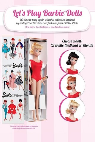 Barbie Lets Play Loira Vintage Reproduction 2012