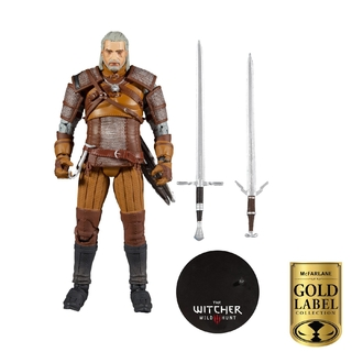 The Witcher - Geralt Of Rivia - Mcfarlane - Gold Label