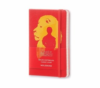 Caderno Moleskine De Bolso Pautado Game Of Thrones 3076
