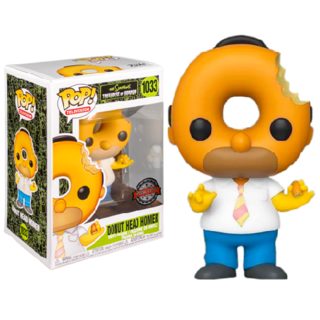 Funko Pop The Simpsons - Donut Head Homer 1033 Especial Ed
