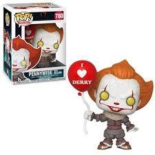 Boneco Funko Pop Movies It Pennywise With Balloon 780