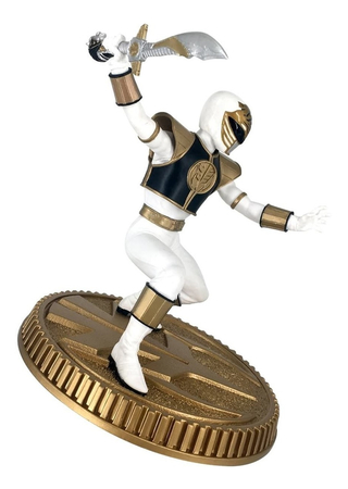 Estátua White Ranger 1/8 Power Rangers - Pop Culture Shock