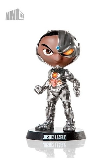 Cyborg Justice League Mini Heroes - Mini Co Iron Studios