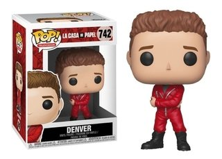 Denver #742 - La Casa De Papel - Pop Funko