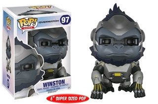 Winston - Overwatch - Funko Pop Games #97