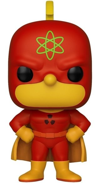 Funko Pop Radioactive Man #496 The Simpsons Com Inmetro