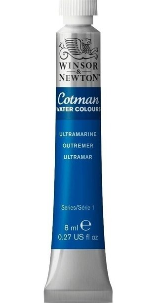 Aquarela Winsor & Newton Cotman 8ml 660 Ultramarine 0303660