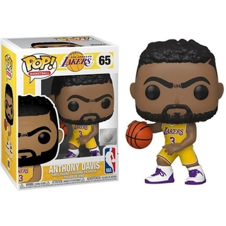 Boneco Funko Pop Anthony Davis 65 - Los Angeles Lakers Nba
