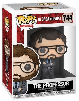 The Professor #744 - La Casa De Papel - Pop Funko
