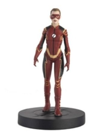 The Flash Tv Series - Jesse Quick 1/16 - Dc Comics Eaglemoss