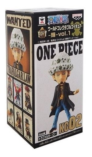 One Piece Wcf Trafalgar Law 02 Banpresto Log Collection
