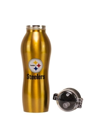 Nfl Squeeze Aluminio - Pittsburgh Steelers - 600 Ml - Nfl