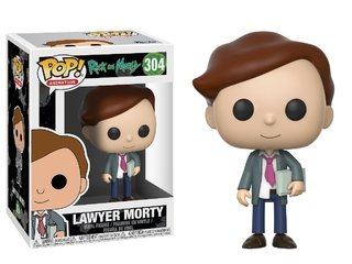 Lawyer Morty - Rick And Morty - Pop Funko 304