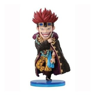 One Piece Wcf Eustass Captain Kid 3 Banpresto Log Collection