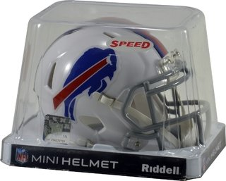 Buffalo Bills Mini Speed Capacete 1/4 Nfl Riddell