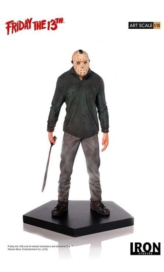 Jason 1/10 Art Scale - Friday The 13th - Iron Studios