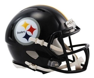 Pittsburgh Steelers Mini Speed Capacete 1/4 Nfl Riddell