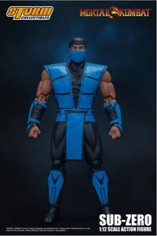 Sub-zero - 1/12 Scale - Mortal Kombat - Storm Collectibles