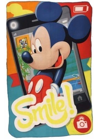 Disney Mickey - Manta Fleece Dtc - 100cm X 150cm