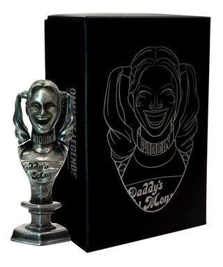 Harley Quinn Mini Busto De Metal Steel Legends Omelete Box