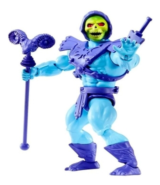 Masters Of The Universe Origins Skeletor Esqueleto 14 Cm Mattel