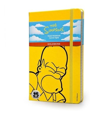 Caderno Moleskine Original The Simpsons Pautado G - 4286