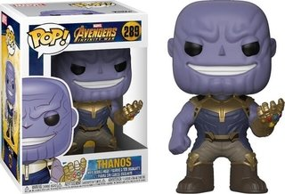 Thanos - Avengers Infinity War Funko Pop Bobble Head Nº 289