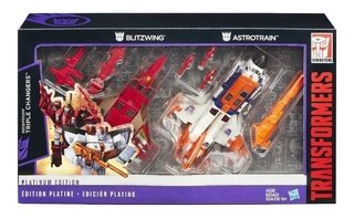 Transformers Platinum Edition Decepticon Triple Changers