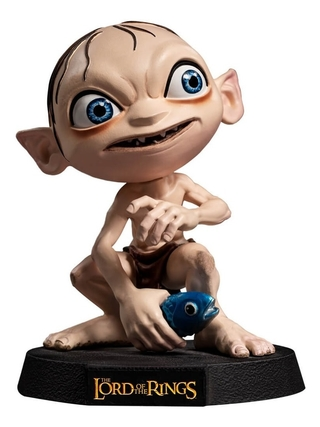Boneco Gollum - Lord Of The Rings - Mini Co Iron Studios