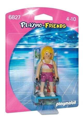 Playmobil Playmo Friends Instrutora Fitness 6827