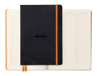 Caderno Goalbook Rhodia Black 117742