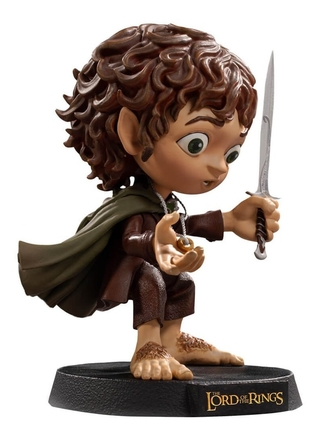 Boneco Frodo - Lord Of The Rings - Mini Co Iron Studios