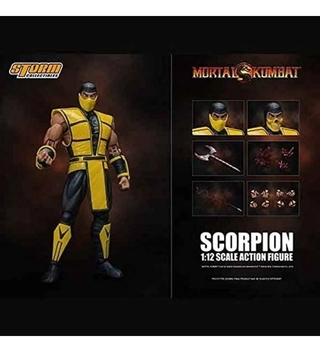 Scorpion - 1/12 Scale - Mortal Kombat - Storm Collectibles
