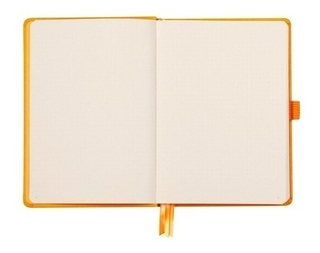 Caderno Goalbook Rhodia Orange 14,8 X 21 Cm 117755